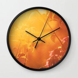 Lombok sunrise Wall Clock