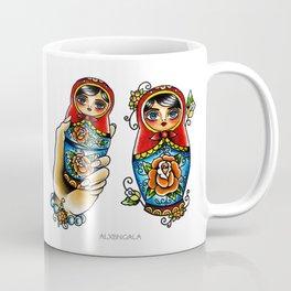 Matryoshkas Flash Coffee Mug