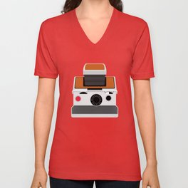 Polaroid SX-70 Land Camera Unisex V-Neck