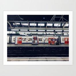 underground: 5am Art Print