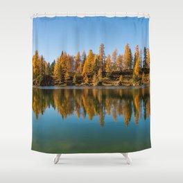 Dolomites 16 - Italy Shower Curtain