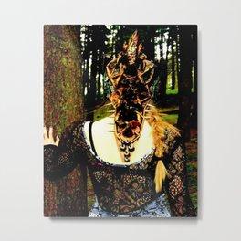 Warrior in the woods Metal Print