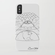 Annuit oeptis iPhone X Slim Case