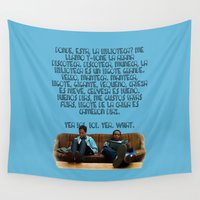 rap Wall Tapestries featuring 101 Rap by Marianna