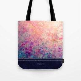 Coastal Sunset - Abstract Art by Vinn Wong Tote Bag
