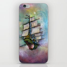 Mike's Tall Ship iPhone Skin