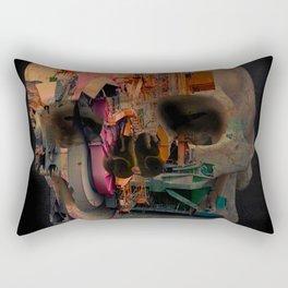 Skull machine Rectangular Pillow