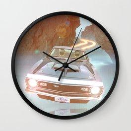 Flyin' Car II Wall Clock