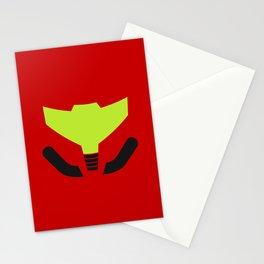 Samus' visor Stationery Cards
