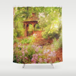 Paradise Garden Shower Curtain