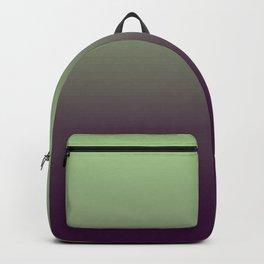 Modern mint green purple ombre pattern Backpack