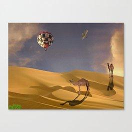 African Adventure Canvas Print