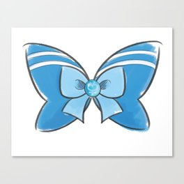 Sailor Mercury Bow Canvas Print