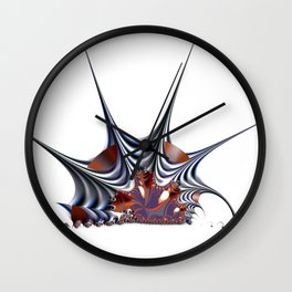 Disruption Wall Clock