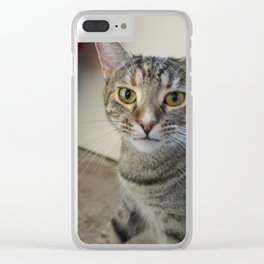 Zoey Face Clear iPhone Case