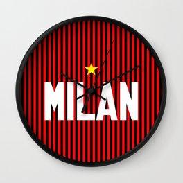 I Rossoneri Milano Wall Clock