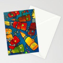 Robot - Robot Party 2 (Zero Gravity) Stationery Cards