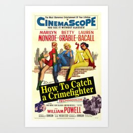 How To Catch a Crimefighter Art Print