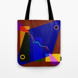 Fishs Drawing in colors Tote Bag