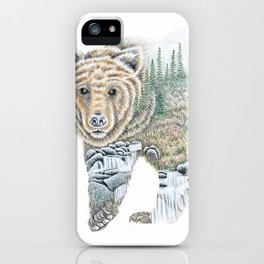 Spirit of the Grizzly iPhone Case