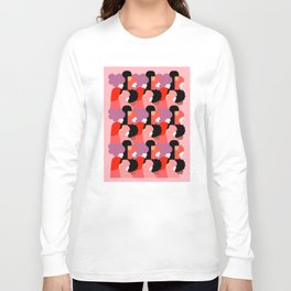 Together Girl Power - Pattern #girlpower Long Sleeve T-shirt
