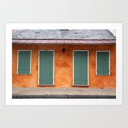 New Orleans Windows and Doors II Art Print