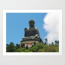Bronze Buddah Art Print