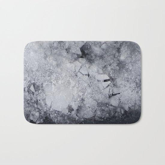Iced Asphalt Bath Mat