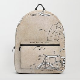 Patent Art Hansen Bicycle Accessory Backpack