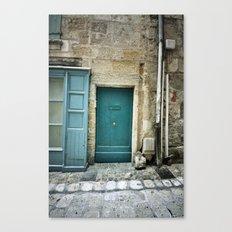 Histoire de portes III Canvas Print