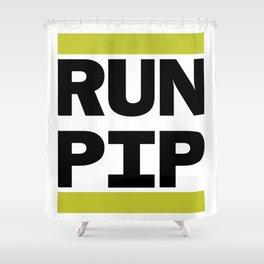 RUN PIP Shower Curtain