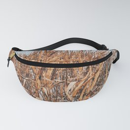 Gold Grass Fanny Pack