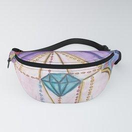 Diamante - rainbow new world Fanny Pack