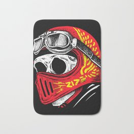 Ride Skull Bath Mat
