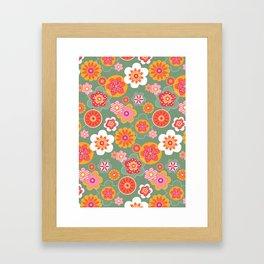 Pretty Flowers Framed Art Print