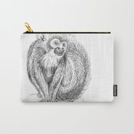 Squirrel Monkey Drawing Carry-All Pouch