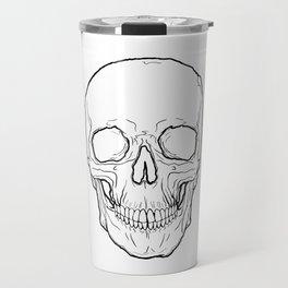 Skull Outlines Travel Mug