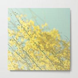 Sunny Blooms 3 Metal Print