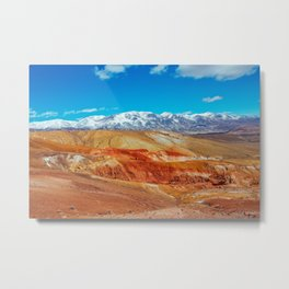 Altai Mountains Valley, Kizil-chin Metal Print