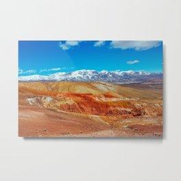 Altai Mountains Valley, Kizil-chin Metal Print