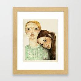 Valentinas Framed Art Print