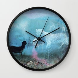 valley ghost Wall Clock