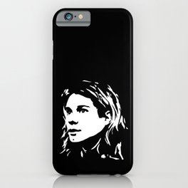 GIFTS WITH THE 27 CLUB THEME GRUNGE AND ALTERNATIVE MUSIC STAR GIFTS FROM MONOFACES iPhone Case