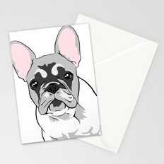 Jersey the French Bulldog Stationery Cards