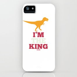 Dinosaur Paleontology Science iPhone Case