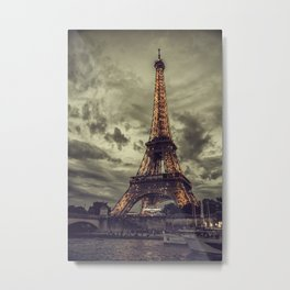 La Tour Eiffel_02 Metal Print