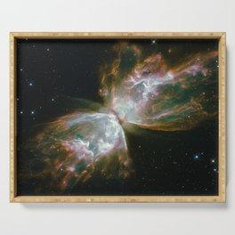 The Butterfly Nebula Serving Tray
