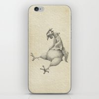 rooster iPhone & iPod Skins featuring Rooster by Aleks Klepnev