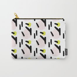 Beige circles Carry-All Pouch