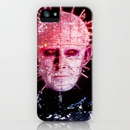 Pinhead with Glitters iPhone Case